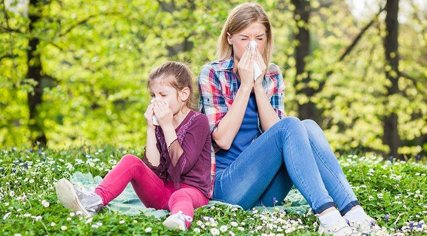 Allergia primavera